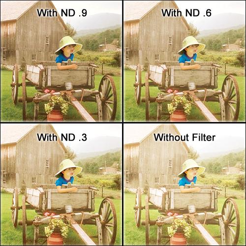 "Tiffen 5.65 x 5.65"" Water White ND 0.6 Filter (2-Stop)"