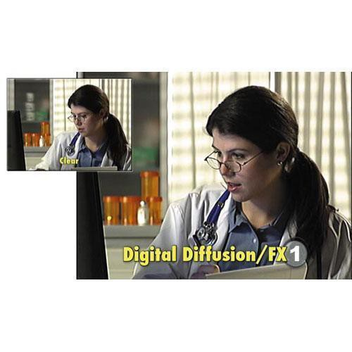 "Tiffen 5.65 x 5.65"" Digital Diffusion/FX 1 Filter"
