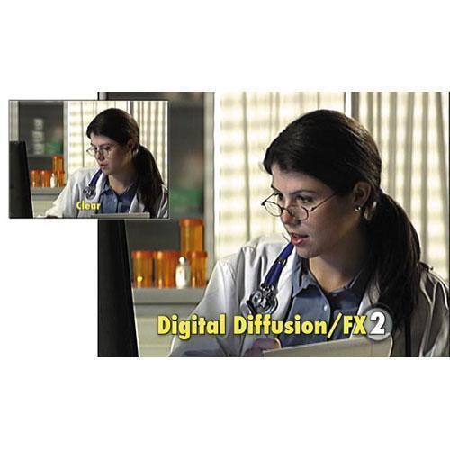 "Tiffen 5.65 x 5.65"" Digital Diffusion/FX 2 Filter"