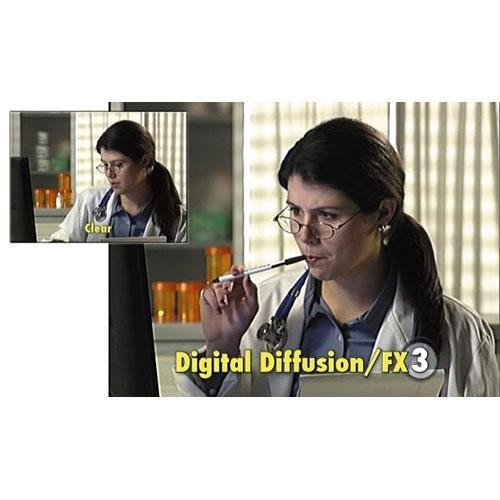 "Tiffen 5.65 x 5.65"" Digital Diffusion/FX 3 Filter"