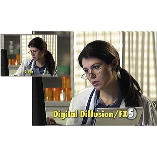 "Tiffen 5.65 x 5.65"" Digital Diffusion/FX 5 Filter"