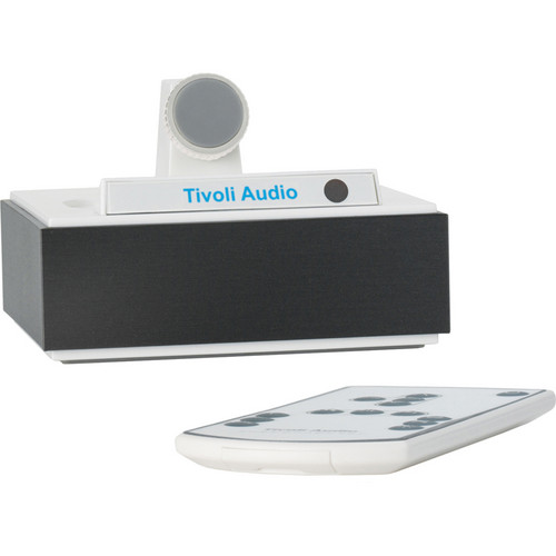 Tivoli CWAD Stand-Alone iPhone/iPod Universal Dock Connector (Aluminum Dark/White)