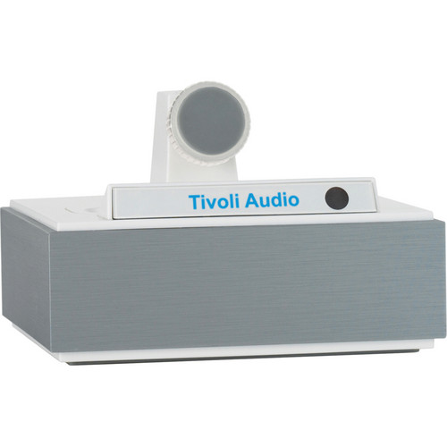 Tivoli CWAL Stand-Alone iPhone/iPod Universal Dock Connector (Aluminum Light/White)