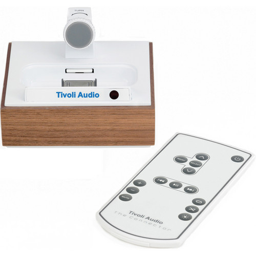 Tivoli CWWL Stand-Alone iPhone/iPod Universal Dock Connector (Walnut/White)