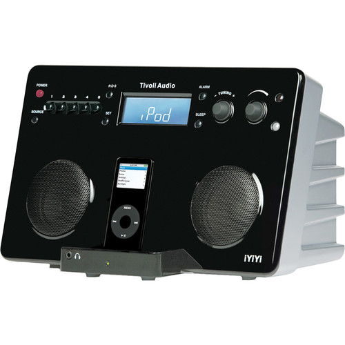 Tivoli iYiYi Portable iPod HiFi Music System - Black