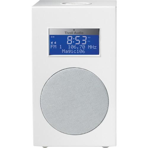 Tivoli Model 10 Clock Radio -Designer Collection (Frost White / SIiver)