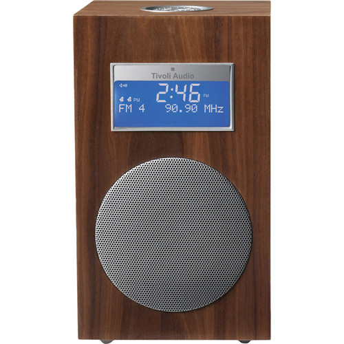 Tivoli Model 10 Clock Radio - Contemporary Collection (Walnut / Silver)