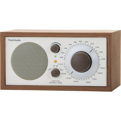 Tivoli Model One AM/FM Table Radio (Beige / Walnut)