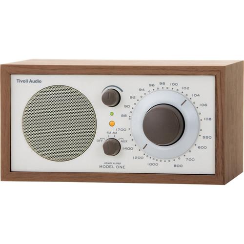 Tivoli model one am fm table radio beige walnut m1cla b h - Tivoli kitchenware ...