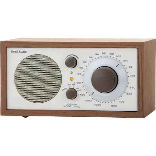 Tivoli Model One Table-Top Radio - Walnut/Beige