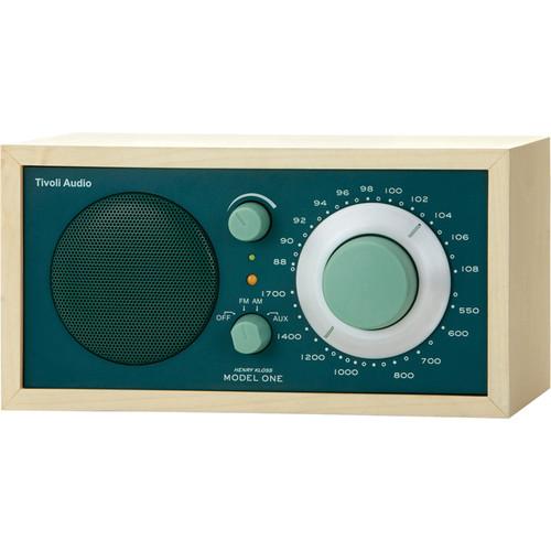 Tivoli Model One AM/FM Table Radio (Green / Maple)