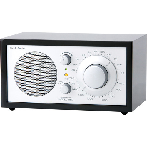 Tivoli Model One Table-Top Radio - Black/Silver