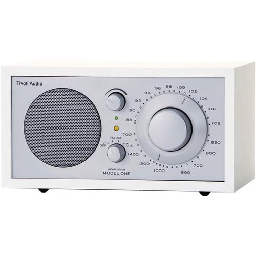 Tivoli Model One AM/FM Table Radio (Silver / White)