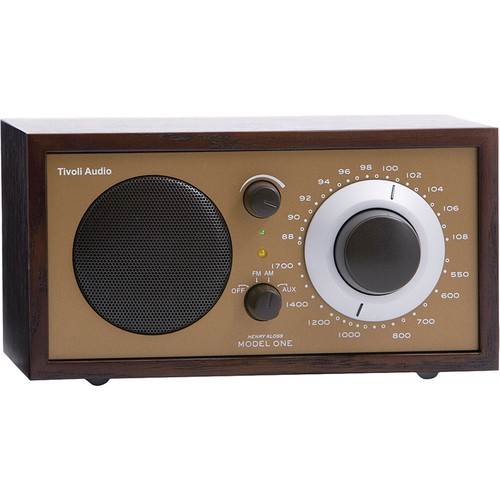 Tivoli Model One AM/FM Table Radio (Wenge / Bronze)