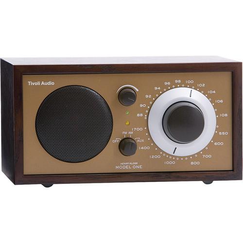 Tivoli Model One AM/FM Table Radio (Wenge / Bronze)