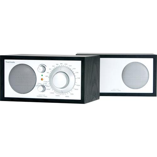 Tivoli Model Two AM/FM Stereo Table Radio (Black and Silver)