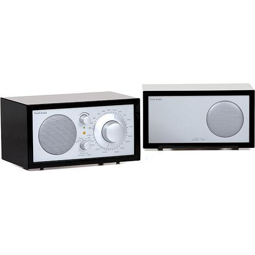 Tivoli Model Two Platinum Series AM/FM Stereo Table Radio (Piano Black and SIlver)