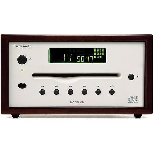 Tivoli MCDDKCLA Platinum Series Model CD Player (Dark Walnut/Beige)