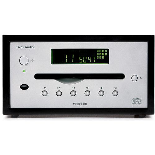 Tivoli MCDPIANO Platinum Series Model CD Player (Black/Silver)