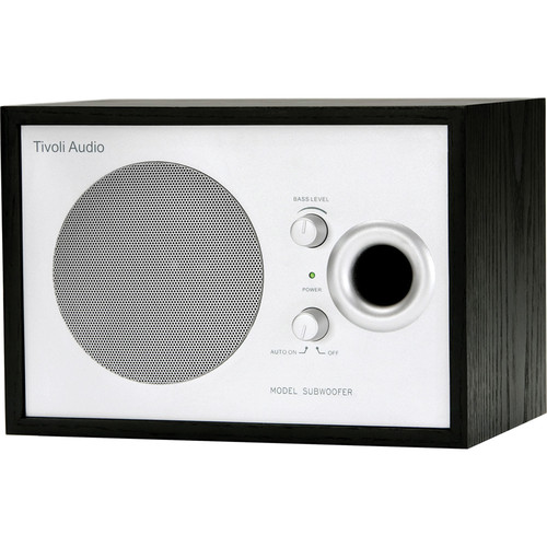 Tivoli Model Subwoofer - Silver/Black Ash