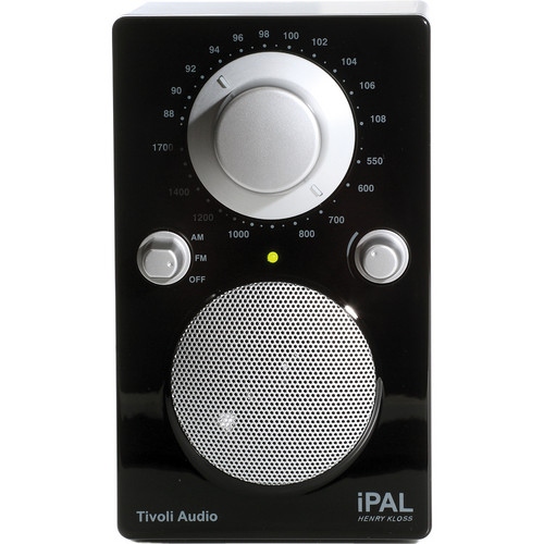 Tivoli iPAL Portable Radio (High Gloss Black)