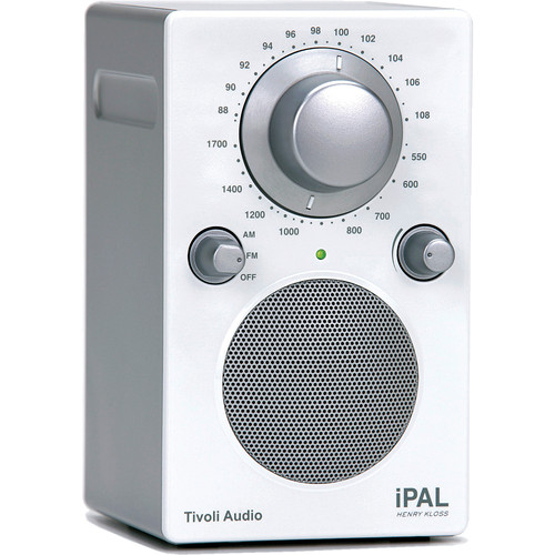 Tivoli iPAL Portable Audio Laboratory - Silver/White