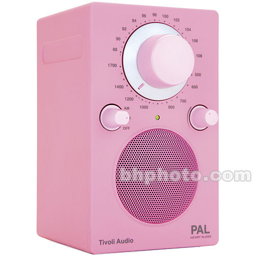 Tivoli Fashion PAL Portable Radio - Pink