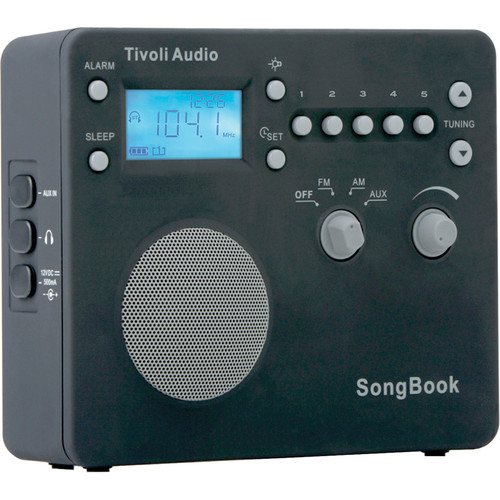 Tivoli SongBook AM/FM Travel Radio (Black)