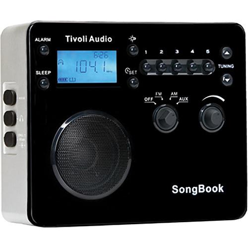 Tivoli SongBook AM/FM Travel Radio (High Gloss Black)