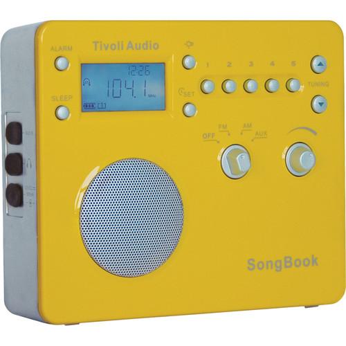Tivoli SongBook AM/FM Travel Radio (Yellow)