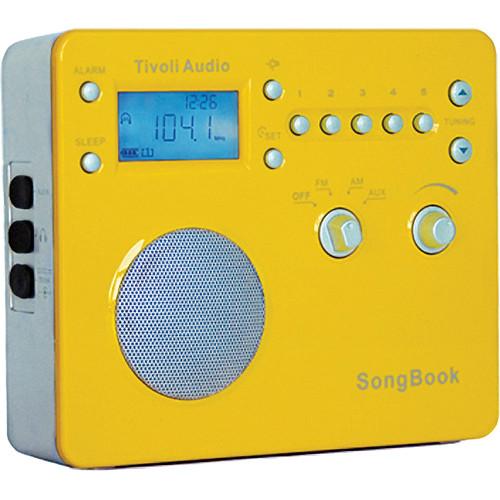 Tivoli SongBook AM/FM Travel Radio (High Gloss Yellow)