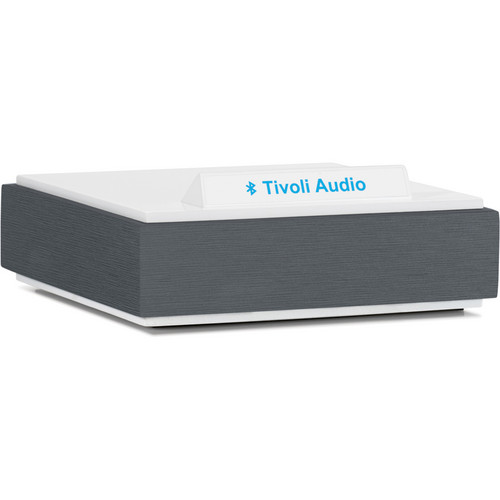 Tivoli BluCon Wireless Bluetooth Audio Receiver (Dark Aluminum & White)