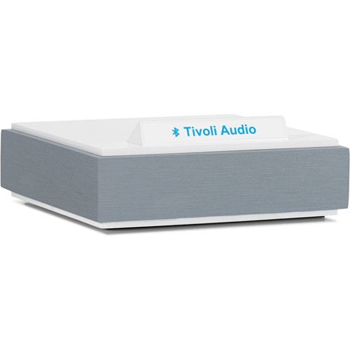 Tivoli BluCon Wireless Bluetooth Audio Receiver (Light Aluminum & White)