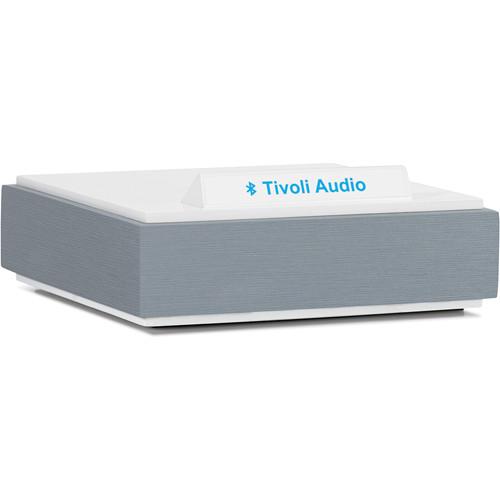 Tivoli BluCon Wireless Bluetooth Audio Receiver (Light Aluminum & White)