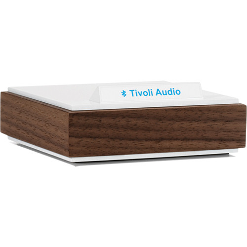 Tivoli BluCon Wireless Bluetooth Audio Receiver (Walnut & White)