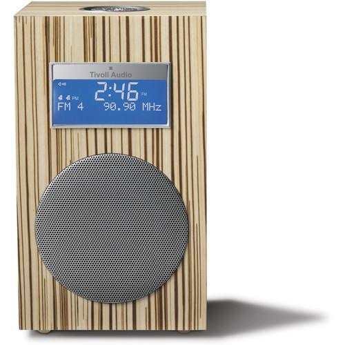 Tivoli Model 10 Clock Radio -Designer Collection (Lines / Silver)