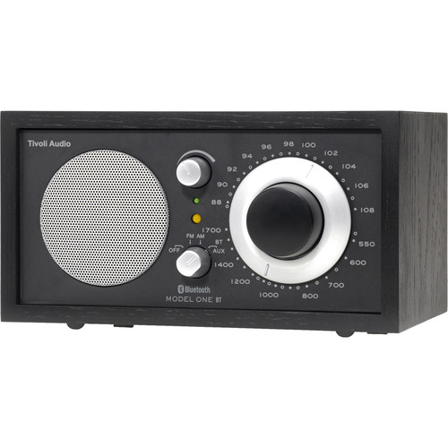 Tivoli Model One Bluetooth AM/FM Radio (Black/Black-Silver)