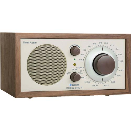 Tivoli Model One Bluetooth AM/FM Radio (Walnut/Beige)