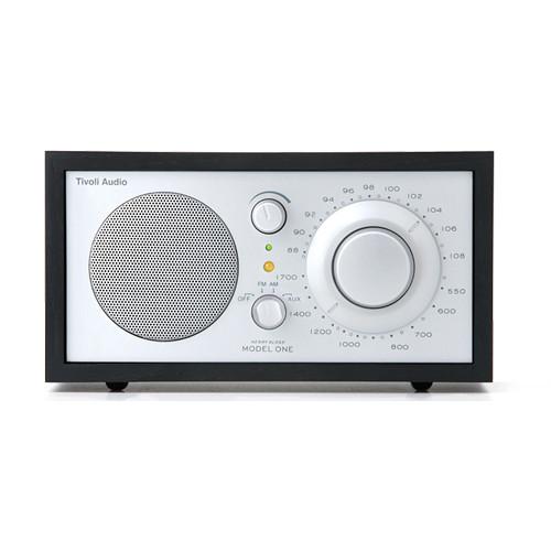 Tivoli Model One Bluetooth AM/FM Radio (Black/Silver)