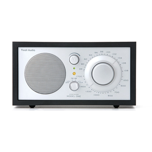 Tivoli Model One Bluetooth AM/FM Radio (Black/Silver)
