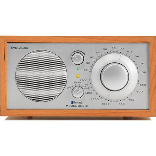 Tivoli Model One Bluetooth AM/FM Radio (Cherry/Silver)
