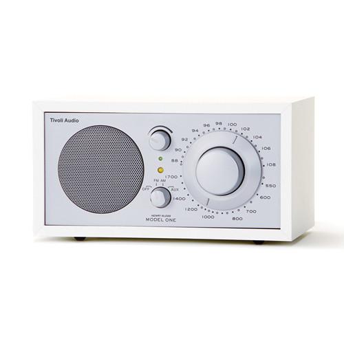 Tivoli Model One Bluetooth AM/FM Radio (White/Silver)