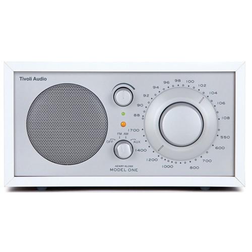 Tivoli Frost White Collection Model One Radio (Frost White/Snow White)