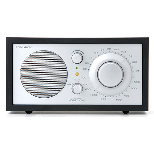 Tivoli Model One AM/FM Table Radio (Black Ash / Silver)
