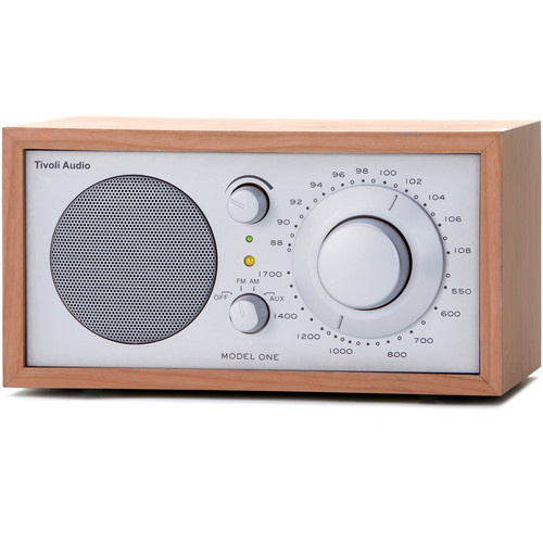 Tivoli Model One AM/FM Table Radio (Cherry / Silver)