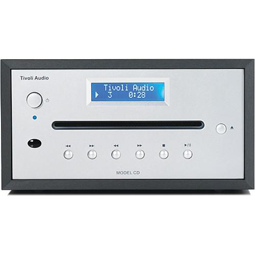 Tivoli Model CD Player (Anodized Aluminum/Silver)
