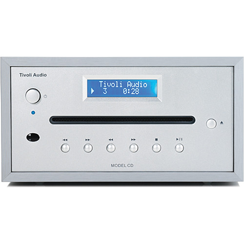 Tivoli Model CD Player (Light Aluminum/Silver)