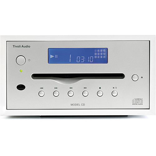 Tivoli Model CD Player (White/Silver)