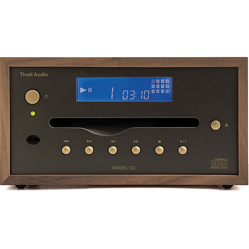 Tivoli Model CD Player (Walnut/Gold)