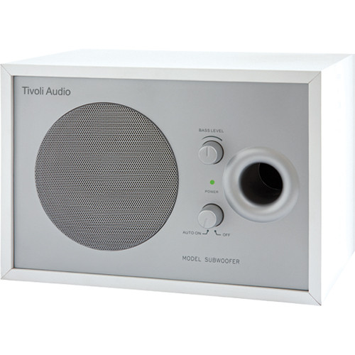 Tivoli Model Subwoofer (White / Silver)